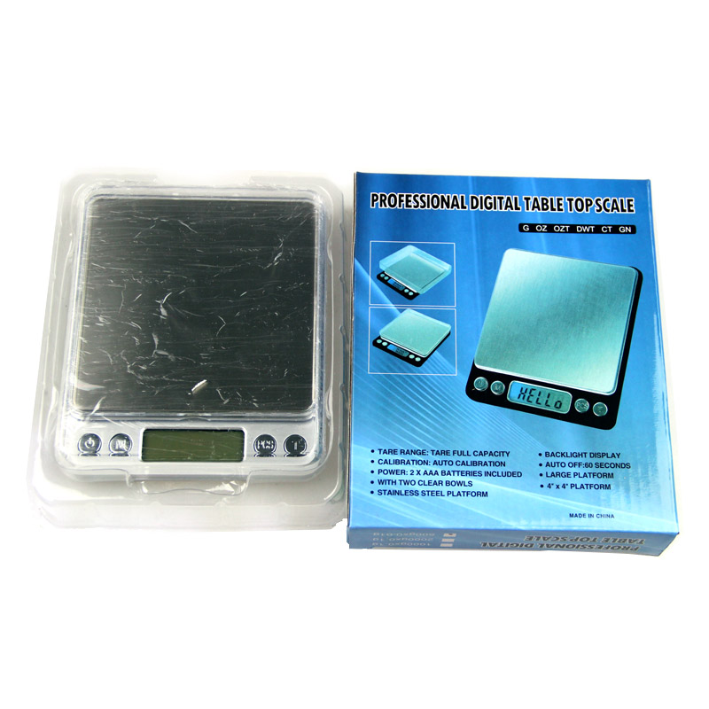Купить с кэшбэком Digital Kitchen Scale High Precision Gold Diamond Jewelry Scale 0.01g Pocket Electronic Balance Gram Weight Portable