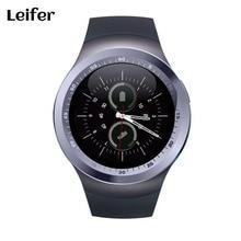Montre Smart Watch Y1 dispositifs portables Soutien Nano SIM & TF Carte Avec Whatsapp Et Facebook remise en forme Ronde Smartwatch Pour IOS Android