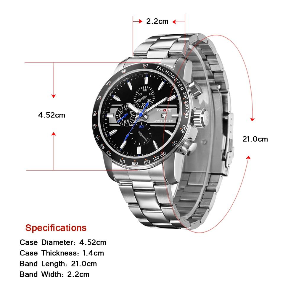Weide 2017 topquartz reloj deportivo reloj casual genuino papel de - Relojes para hombres - foto 2