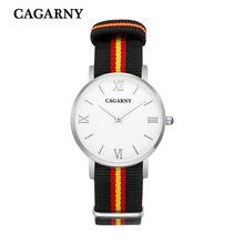 40 MM new luxury fashion brand for men and women watch sports business casual nylon belt quartz watch