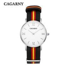 40 MM new luxury fashion brand for men and women watch sports business casual nylon belt quartz watch