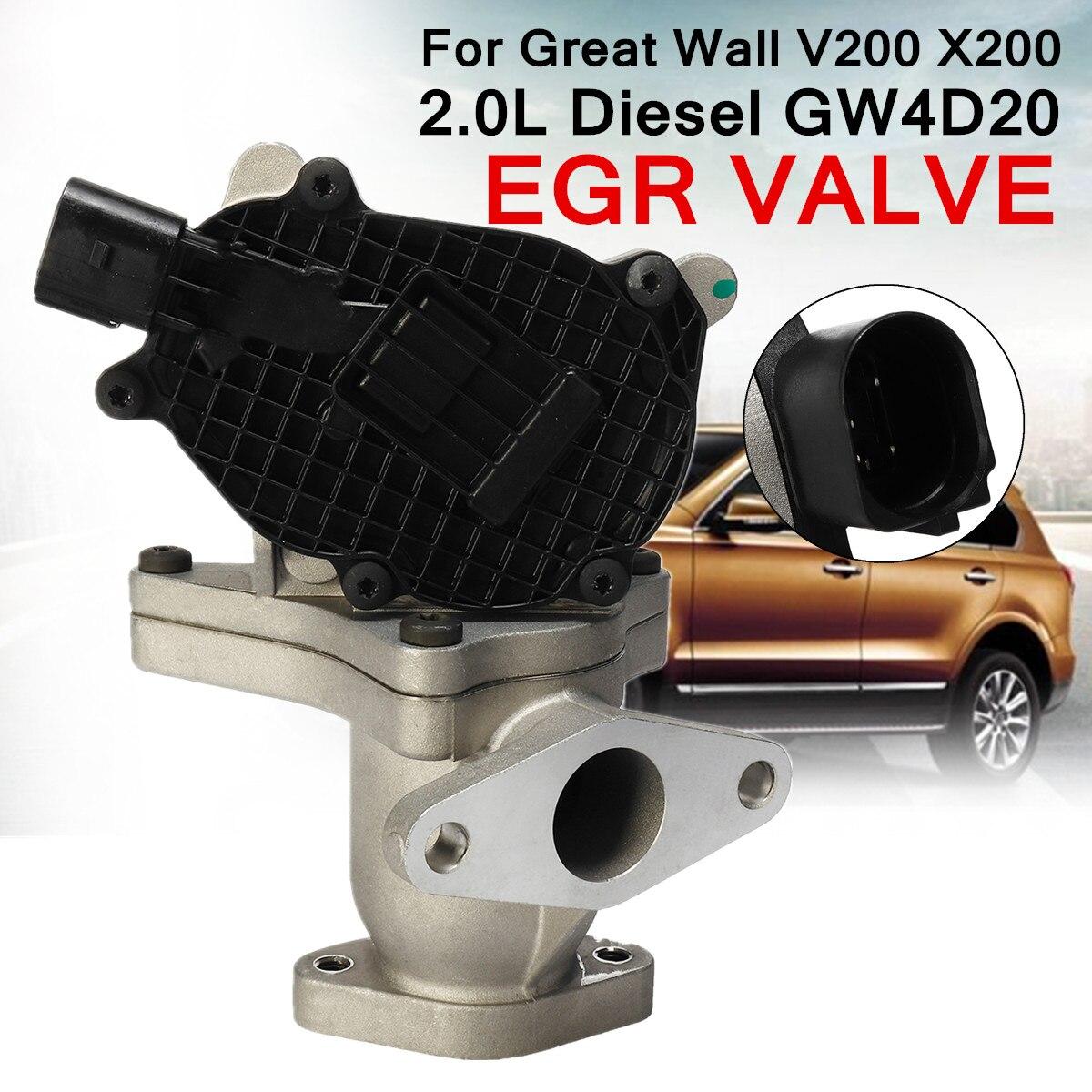 EGR Válvula de Escape de Gás para Great Wall 1207100-ED01A V200 X200 GW4D20 2.0L para Diesel Válvula de Recirculação De Reduzir A Temperatura Dos Nox