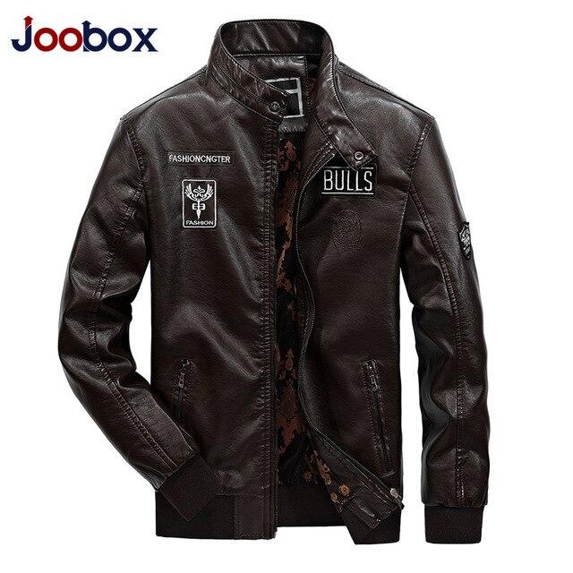 Winter Casual Leather Jaket Men Deri Mont Erkek Faux Jackets Slim Fit Coats Men Baseball Uniform Jaqueta De Couro Masculina 5