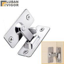 Нержавеющая сталь 90 градусов правый угол пряжки/крюк замок/болт, для раздвижной двери, мини, но сильный, поверхностного монтажа, аппаратные замки