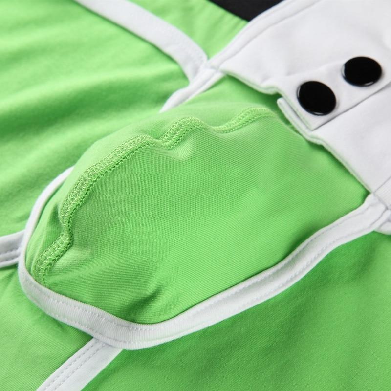 Men sexy underwear w/ button - breathable soft cotton 4