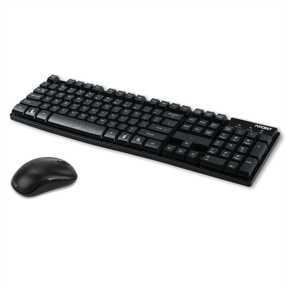 Free Shipping New 2.4G Wireless keyboard and mouse combo set laptop,notebook,desktop any computer greg dos for dummies qr 2e