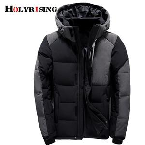 Image 3 - ผู้ชายลงเสื้อ chaqueta plumas ombre invierno ชายลงเสื้อ doudoune tommy ผ้านวม de canard chaquetas ombre plumas 18382 5