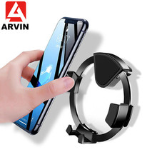 Arvin Universal Car Phone Holder Gravity Air Vent Mount Mobile Stand In For iPhone XR Sansung S9 Huawei P30 Smartphone
