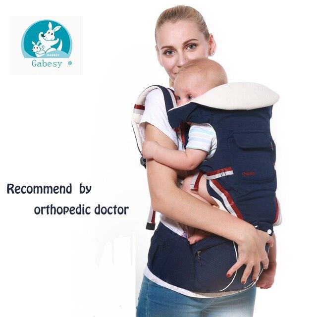 76b264c6f27 Gabesy Baby Carrier Ergonomic Carrier Backpack Hipseat for newborn baby  sling baby Kangaroos