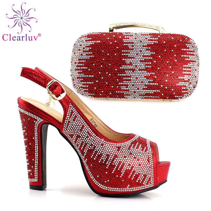 Green Color Novel Design Shoes and Bag Set African Sets Italian Shoes with Matching  Bags Women Shoes and Bag African Party Shoes-in Women s Pumps from Shoes ... f25044f4e192
