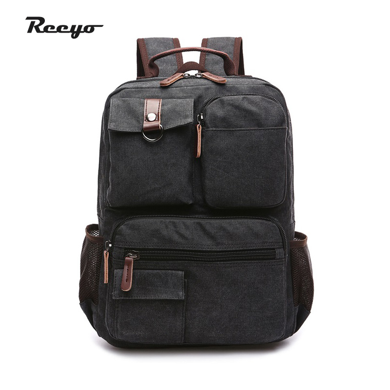 Men Cavans Laptop Backpack for 15.6 inches Messenger Shoulder Bag School Backpacks Male Versatile Bags Free Shipping men backpack student school bag for teenager boys large capacity trip backpacks laptop backpack for 15 inches mochila masculina