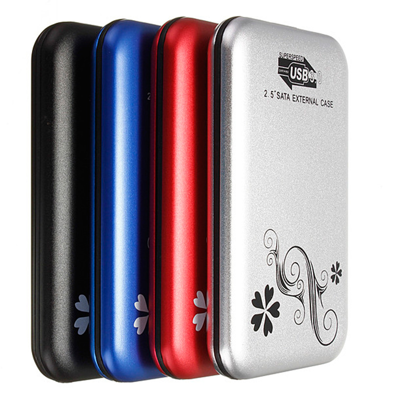 Hot Sell 1Price 5 Color USB 3.0 High Speed External 2.5