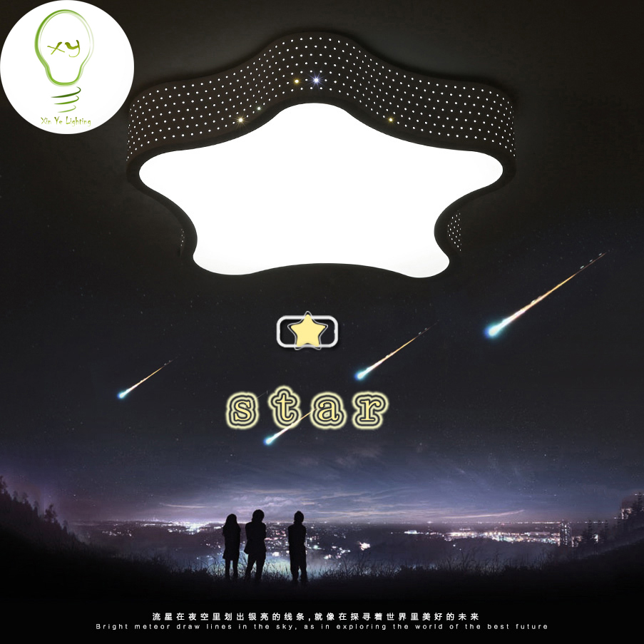 Modern minimalist bedroom living room ceiling light LED children room ceiling lamp starfish light Diameter 43cm AC220V vemma acrylic minimalist modern led ceiling lamps kitchen bathroom bedroom balcony corridor lamp lighting study