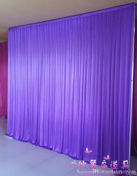3m*3m backdrop for any color Party Curtain festival Celebration wedding Stage Performance Background Drape Drape Wall valane bac фото