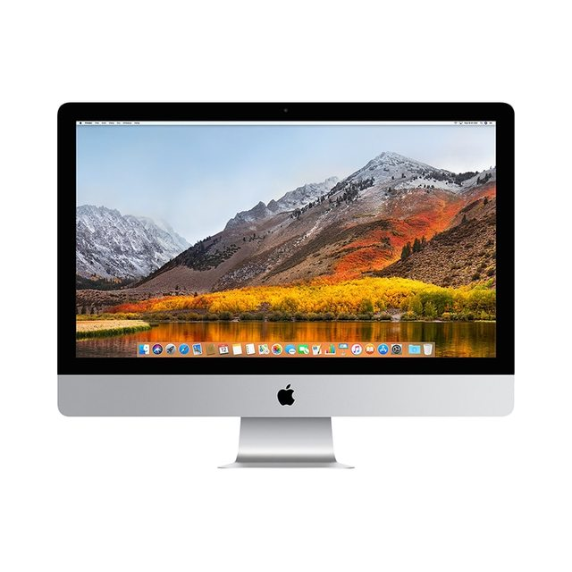"Моноблок Apple IMAC 27"" 3.4GHz Quad-core Intel Core i5, Turbo Boost up to 3.8GHz/8GB/1TB Fusion Drive/5K Retina/Radeon Pro 570 with 4GB video memory/Magic Mouse2/Apple Magic Keyboard(RS) -RUS MNE92RU/A"