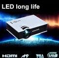 2015 El Más Nuevo Mini LED 3D Pico Proyector Portátil Proyector AV USB SD con HDMI Projetor home cinemaProjector