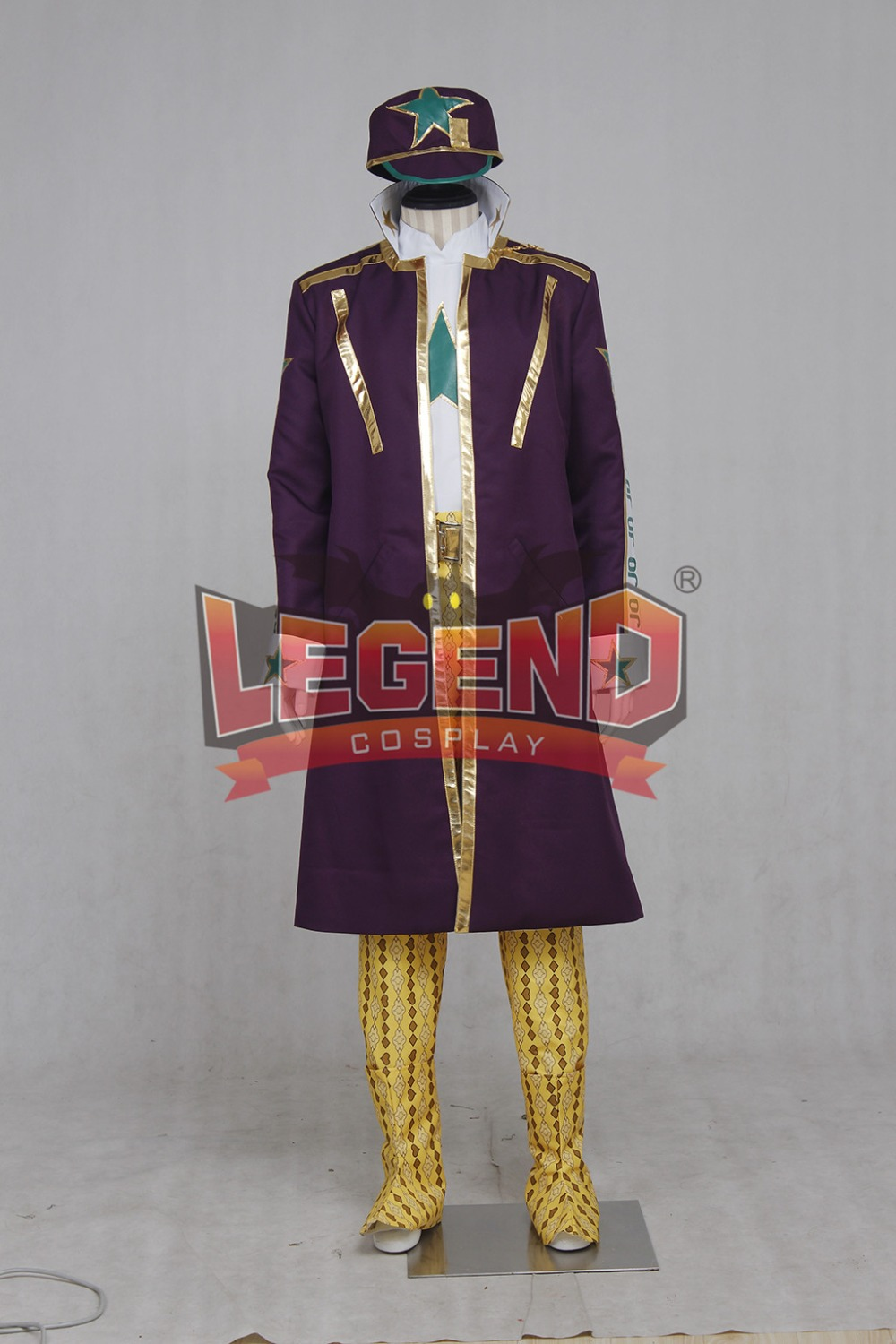 JoJo's Bizarre Adventure Kujo Jotaro cosplay costume CUSTOM MADE