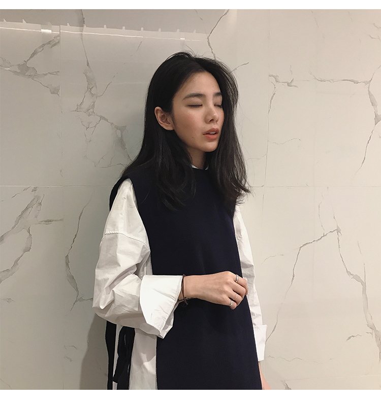 New Split New Autumn Winter Long Cardigan Knitted Sweaters Women Sleeveless Warm Sweater Vest Casual Solid Loose Sweater