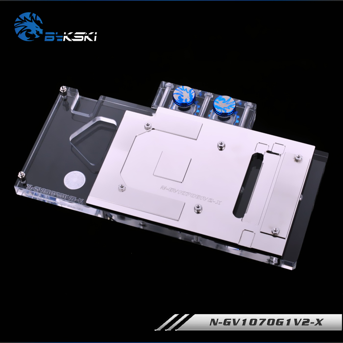 Image 4 - Bykski N GV1070G1V2 X Full Cover Graphics Card Water Cooling Block for Gigabyte GAMING GTX1070TI 1070 1060 G1-in Fans & Cooling from Computer & Office