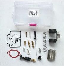 Мотоцикл Ремкомплект карбюратора комплект 28 мм для PWK KEIHIN oko карбюратор Универсальный PWK28 Ремонтный комплект запасные жиклеры карбюратора наборы один пакет
