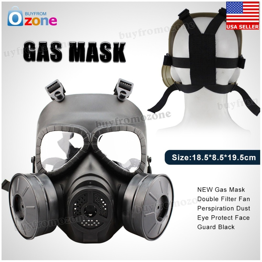 Hot Gas Mask Breathing Mask Creative Stage Performance Prop for CS Field Equipment Cosplay Protection Halloween Evil