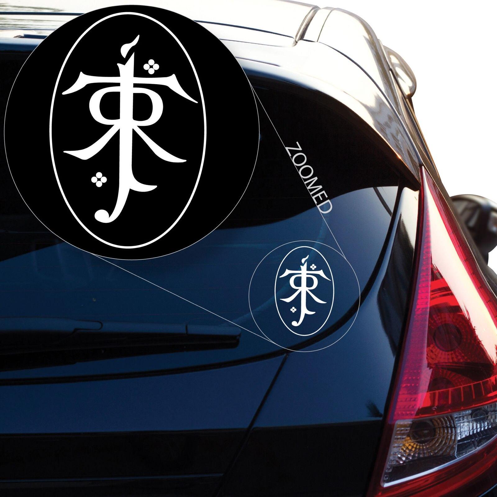 Herr der Ringe Tolkien Vinyl Aufkleber Sticker in Car Stickers from Automobiles Motorcycles