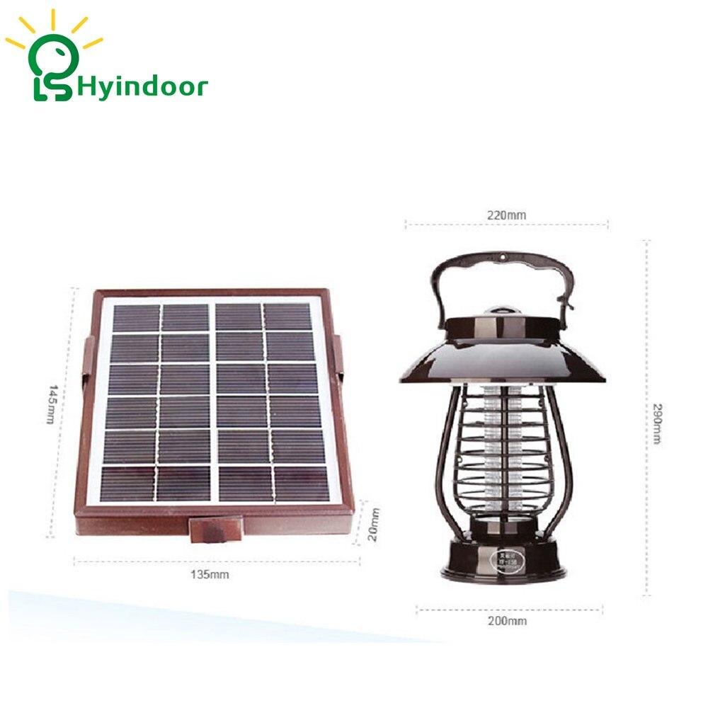 где купить Repellent Light LED Solar Mosquito Killer Lamp Waterproof Wall Lamps Night Lights Pest Control по лучшей цене