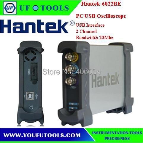 ФОТО Hantek 6022BE 2 Channels 20MHz 48MSa/s Oscilloscope/ PC-Based Digital Storage Oscilloscope / Automotive analog oscilloscope