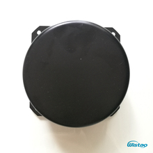 """כיסוי שנאים טבעתיים IWISTAO שווי 90*50 מ""""מ 1 מ""""מ צלחת ברזל שנאי HIFI AmpDIY צבע שחור אפייה משלוח חינם"""