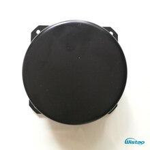 IWISTAO Cover Ringkern Transformatoren Cap 90*50mm 1mm Ijzeren Plaat Zwart Bakken Verf Transformator voor HIFI AmpDIY gratis Verzending