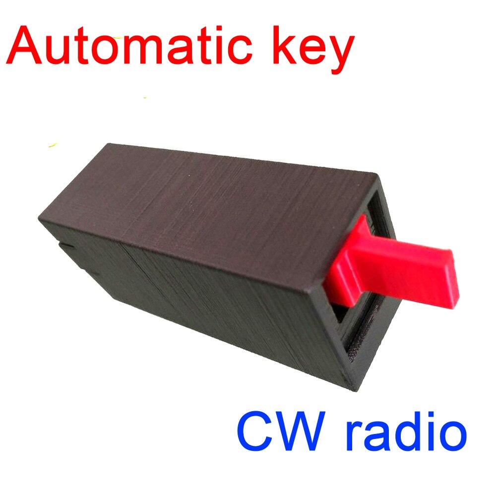 Transmetteur de clé automatique bouton automatique d'oscillateur Morse code à ondes courtes CW radio bouton automatique pour RADIO de paume de jambon