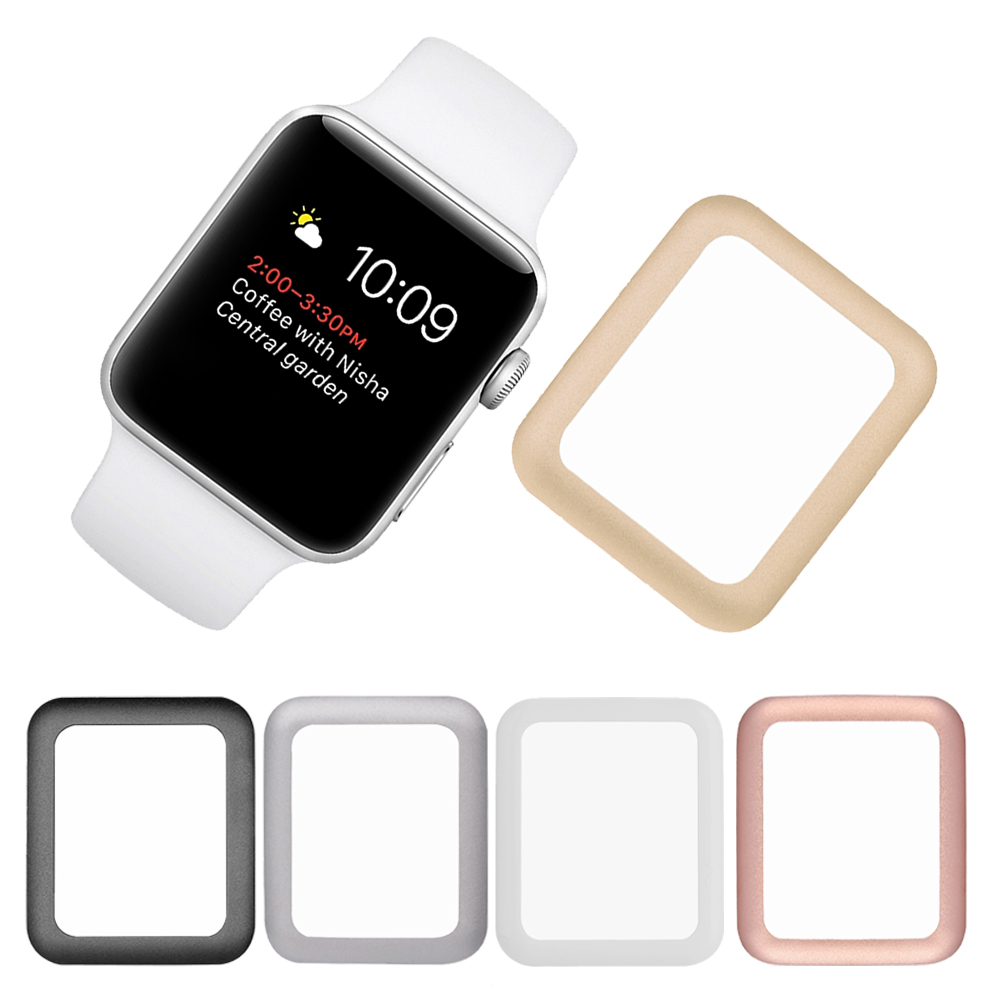09d4b0ee84d Gosear Aluminum Bumper Case Cover Tempered Glass Screen Protective Film for  Apple Watch iWatch i Wach iWach Series 1 2 3 38mmUSD 3.61 piece