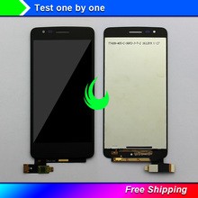 """5.0"""" Original Display For LG K8 2017 X240 LCD Touch Screen Digitizer Assembly with Frame For LG X240 LCD Display Screen"""