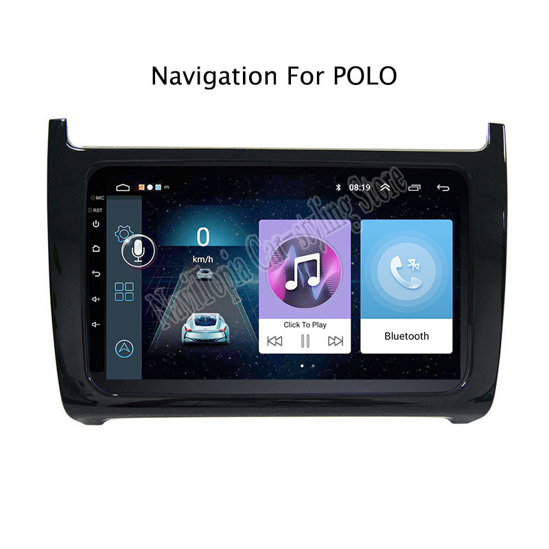 navitopia 9inch radio stereo for vw polo 2011 2012 13 15. Black Bedroom Furniture Sets. Home Design Ideas