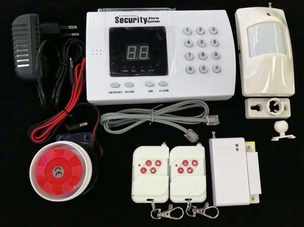Capteur d'alarme sans fil pour système d'alarme antivol PSTN