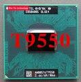 Lifetime warranty Core 2 Duo T9550 2.66GHz 6M 1066 Dual Notebook processors Laptop CPU Socket PGA 478 pin Computer Original