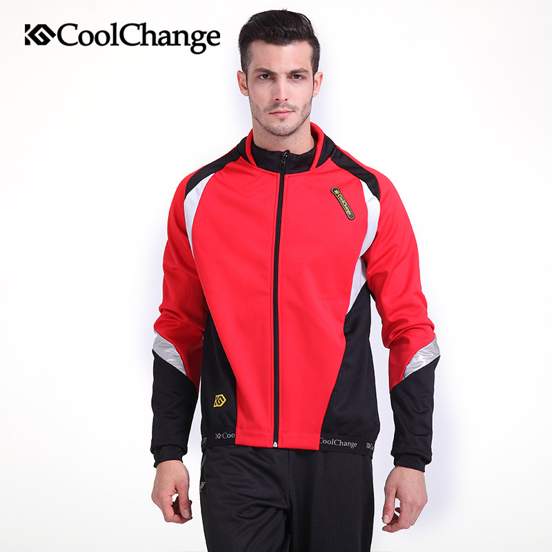 CoolChange Winter Cycling Clothing  Fleece Cycling Set Pro Thermal Cycling Clothes Men Mtb Bike Suit Bicycle Clothing Uniform bxio brand winter thermal fleece bicycle jerseys 5d gel pad bike clothes warm long sleeves cycling clothing maillot ciclismo 114