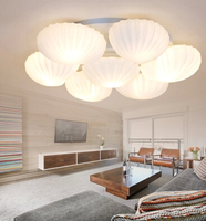 Conch fashion led creative restaurant sitting room book house owner bedroom light porch corridor absorb dome light