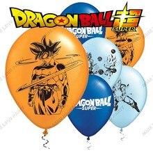 Goku jogo bola tema festa definir aniversário das crianças 12 Polegada látex balão decoração do chuveiro do bebê