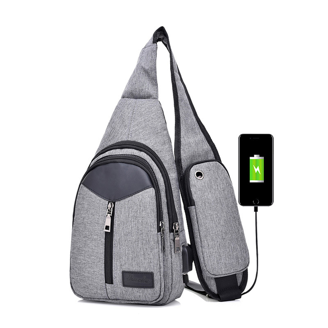 7b133d9f31ae US $10.7 30% OFF|Men Canvas Crossbody Bags For Women Chest Bag USB Smart  Anti Theft Shoulder Messenger Phone Bag on Aliexpress.com | Alibaba Group