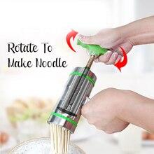 Stainless Steel Manual Noodle Maker Pasta Making Machine Vegetable Fruit Juicer Presse Machine Spaetzle Spaghetti Maker Mold