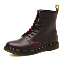 Brand Men's Boots Genuine Leather Winter Warm Shoes Motorcycle Mens Ankle Boot Martins Men Oxfords Plus Sizes 38 46