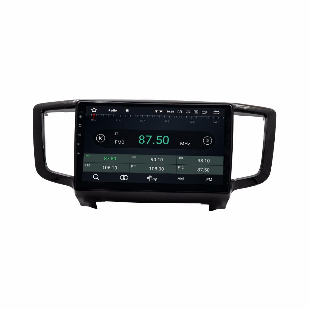 "10"" Android 8.0 Octa Core Car GPS Navigation For Honda Odyssey 2015-2019 Autoradio Multimedia Audio Stereo"