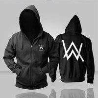 Electronic Music DJ Alan Walker Faded Hoodies Men Fashion Hip Hop Hoody Winter Warm Hoodies Justin Bieber jacket coat