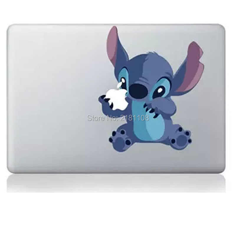 "Lilo và Cross Stitch sticker Decal Vinly cho Apple MacBook 13 ""/15"" Retina/Pro/Air máy tính xách tay"