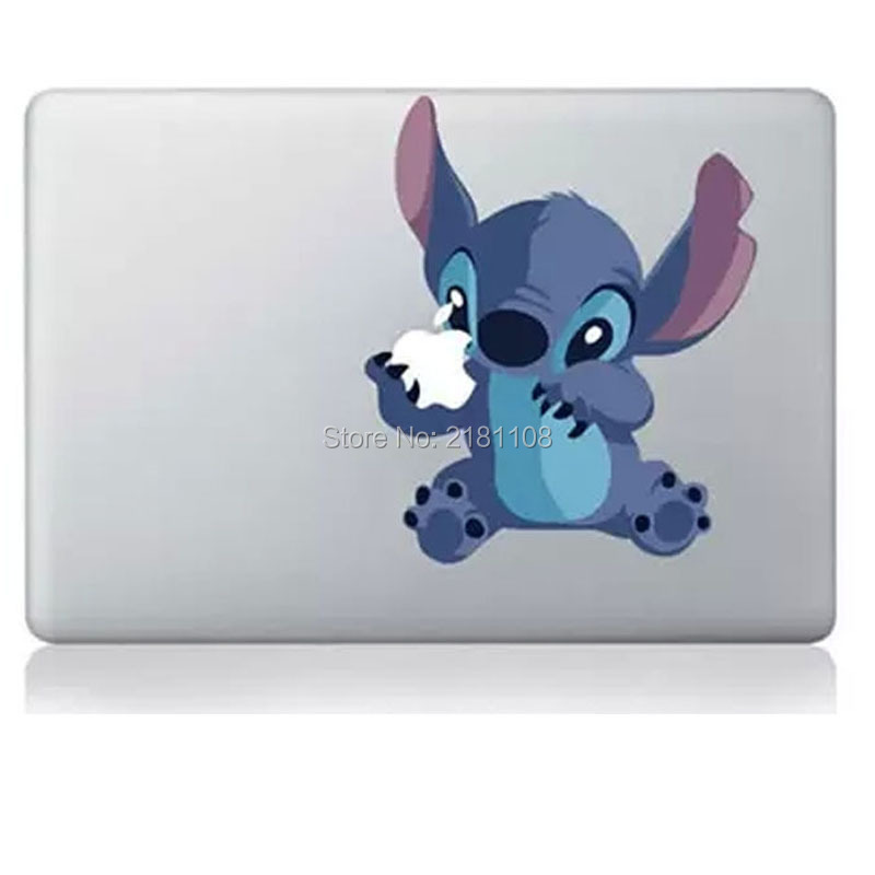 """Lilo and Stitch sticker Decal Vinly for Apple MacBook 13""""/15"""" Retina/Pro/Air laptop(China)"""