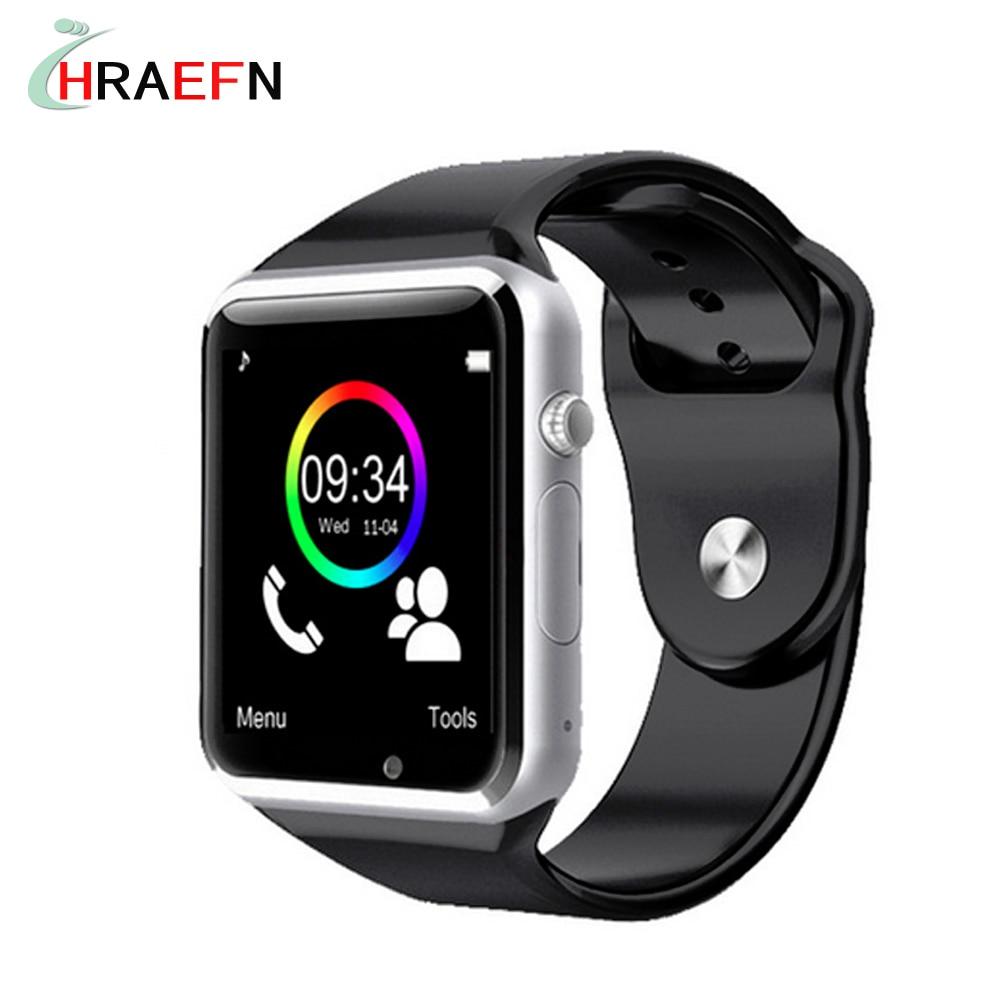 imágenes para Reloj teléfono inteligente bluetooth A1 smartwatch apoyo SIM TF cámara montre conector IOS de Apple iPhone Android samsung huawei PK GT08
