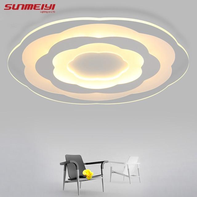 Blanc Minimalisme Ultra Mince Moderne LED Plafonnier pour Salon Cuisine Chambre Salle De Bains Plafond Lampe.jpg 640x640 Résultat Supérieur 13 Luxe Lampe Salle De Bain Plafond Photos 2017 Ojr7