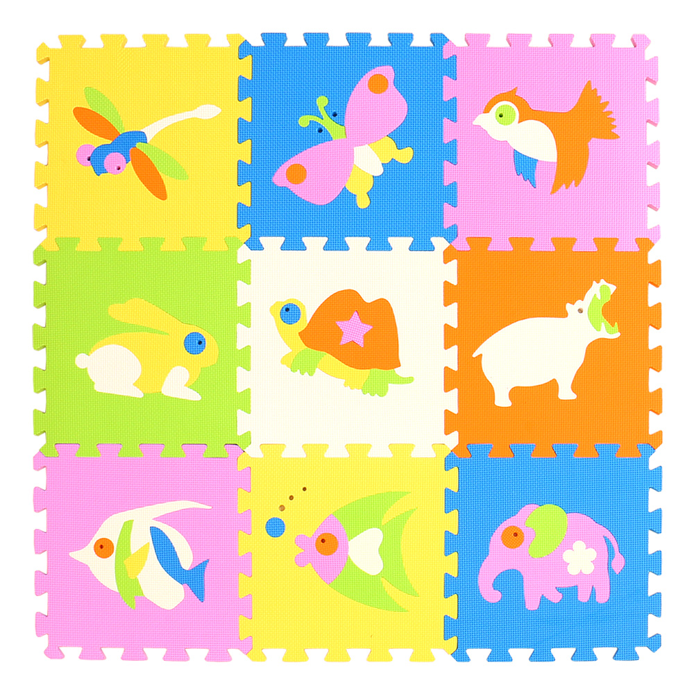 HTB1VJ5qsruWBuNjSszgq6z8jVXa0 mei qi cool 9pcs/set baby play EVA foam puzzle mat /Cartoon EVA foam pad / Interlocking Mats for kids playmat
