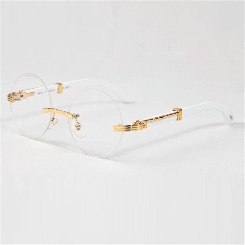 Rot Anti Uv400 Marke Reflektierende Progressive Mann Randlose Runde Designer Brille Männer Brillen Name white Cubojue Luxus Holz YnqOPSwqZ